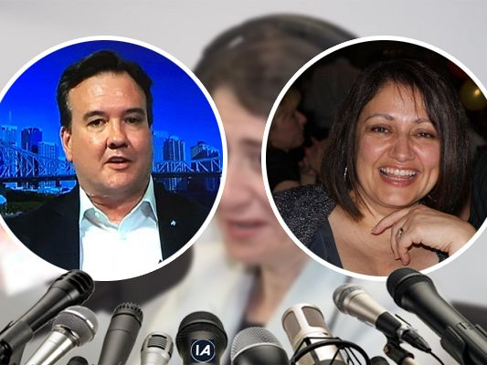 David Skynews interviews NSW Premier Gladrags Bereftoclues