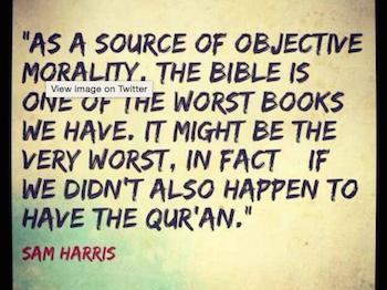 Boycotting Sam Harris's ads: Atheist freedom of speech vs. religious censorship