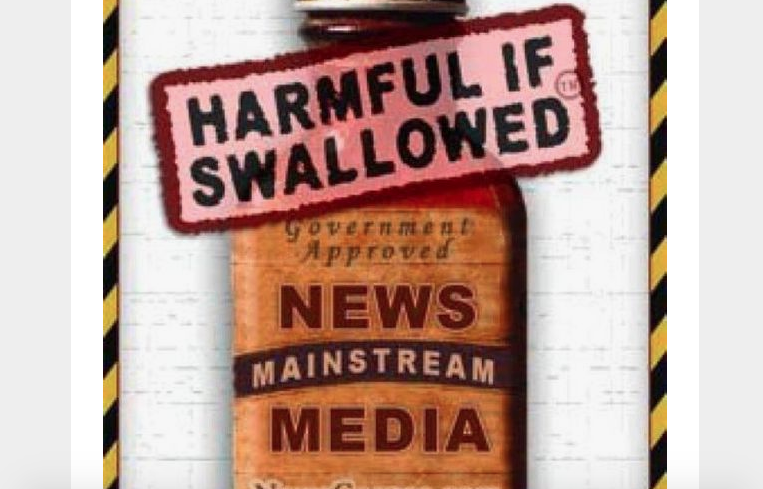 Image result for Images of Mainstream Media rubbish