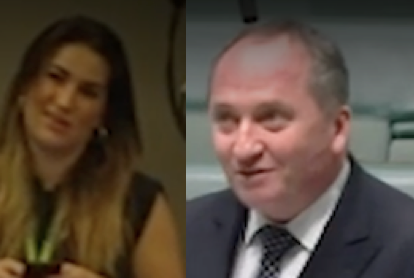 This morning Barnaby Joyce addressed a press pack for the first time since  his affair with former staffer Vikki Campion was publicised.