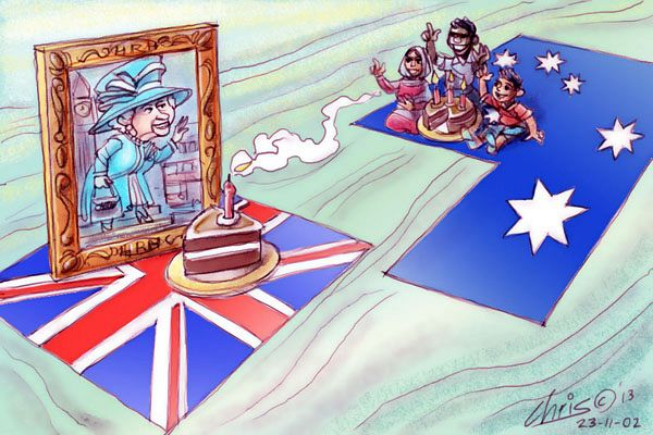 Can Australia have an identity without being a republic?