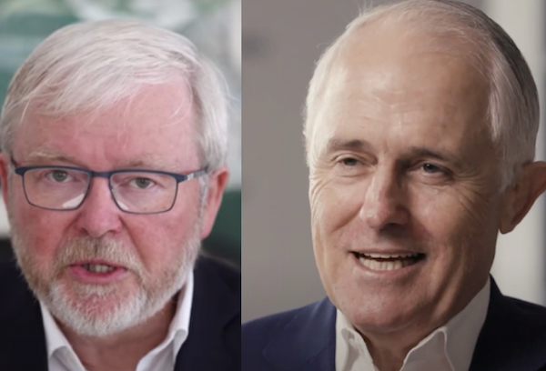 How Rudd and Turnbull could activate climate change bipartisanship