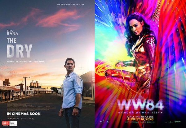 Screen Themes: The Dry vs Wonder Woman 84