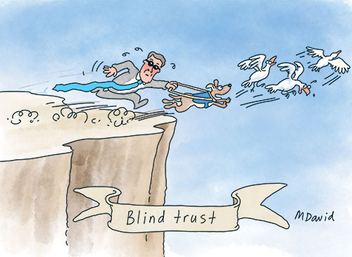 EDITORIAL: Christian Porter's dark blind trust: Nothing to see here!