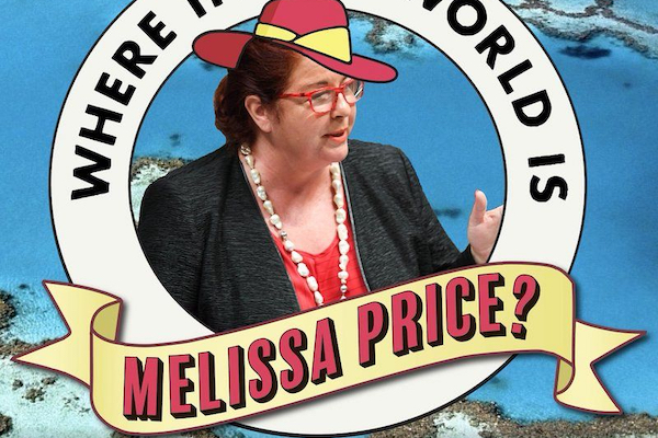Meet invisible Environment Minister Melissa Price