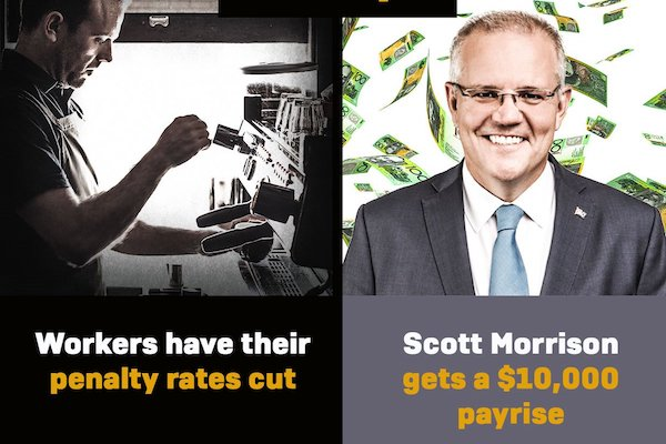 Why Scott Morrison is paid three times what he's worth