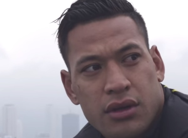 A day in the life of that champion of free speech, Israel Folau