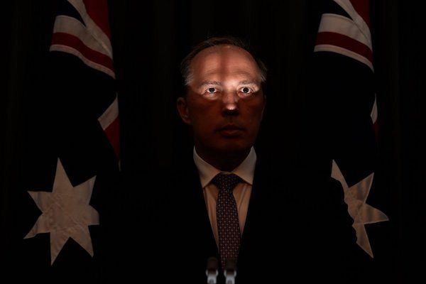 MUNGO MACCALLUM: Peter Dutton — crushing people because he can