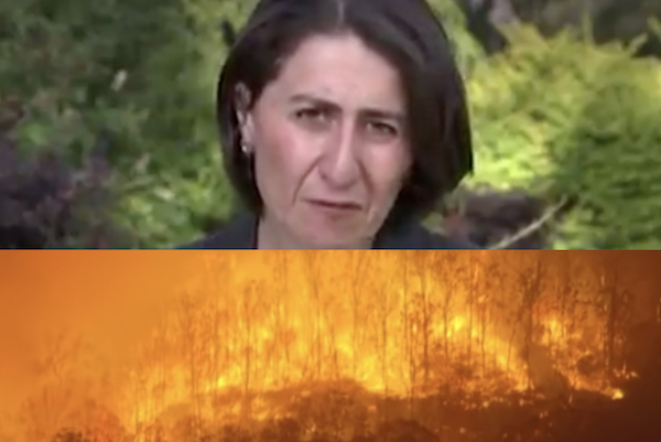 Fires rage as Berejiklian ignores advice and decimates what's left