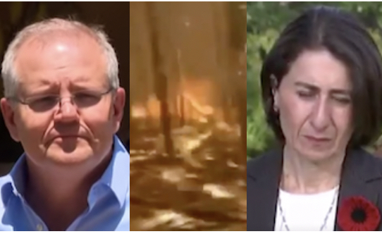 Morrison and Berejiklian can't see the forest for the burning trees