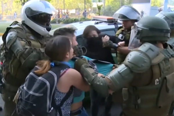 'We're fed up and we will not obey you': Rebellion strikes cities across the world