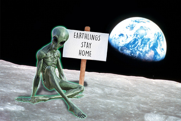 Humans not welcome, says Man in the Moon