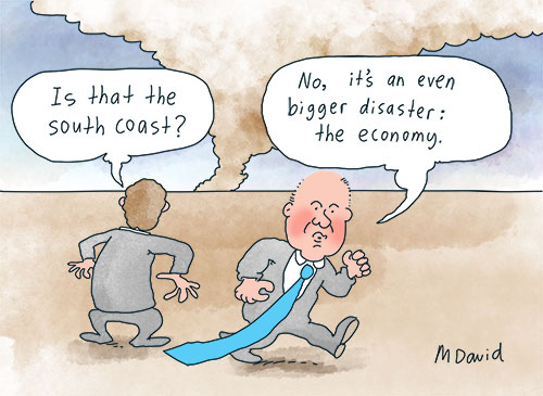 Global recovery skips Australia as economy suffers Coalition's incompetence