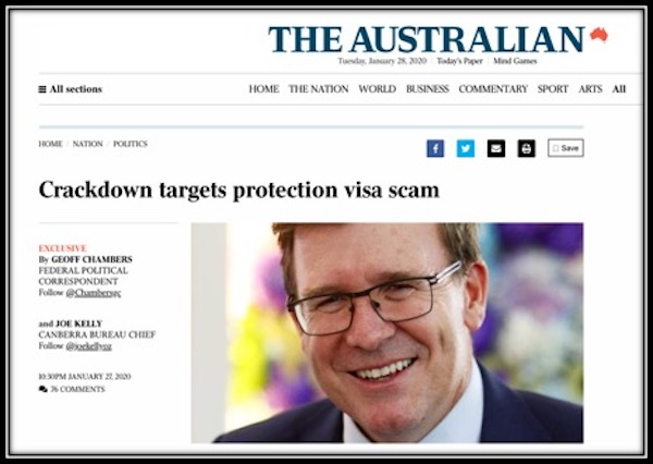 'The Australian' falls for Government spin on asylum seekers — again