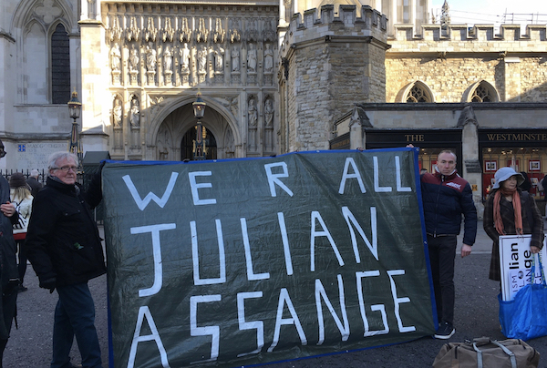 JOHN PILGER: Marching against the silencing of Julian Assange — and all of us