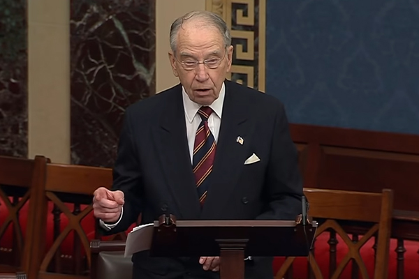 Senator Grassley reveals the extent of President Trump's corruption