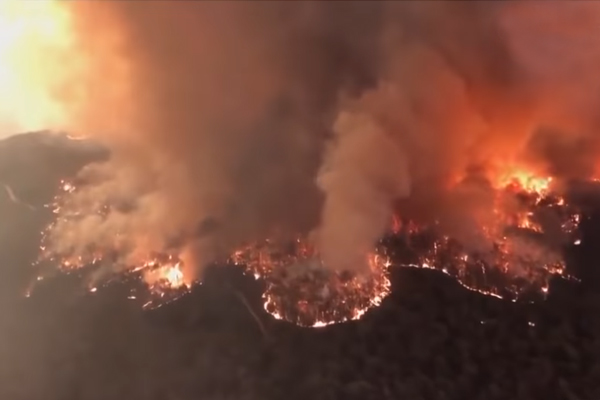 Rare firestorm weather events are becoming the new normal