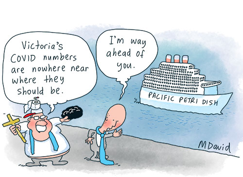 CARTOONS: COVID numbers are adding up
