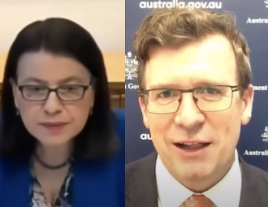 Mikakos resigns; Tudge's criminal conduct ignored