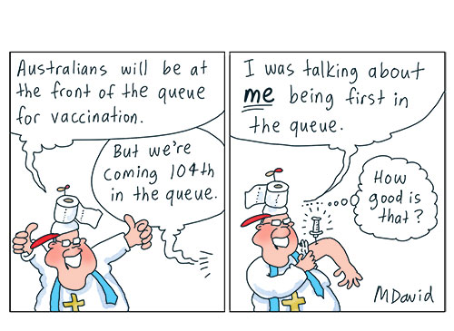 Morrison's premature vaccine rollout an anticlimax