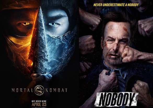 Screen Themes: Nobody vs Mortal Kombat