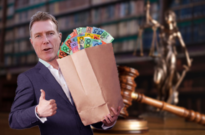 'Honest' Christian Porter's mystery donation is totally not suspicious