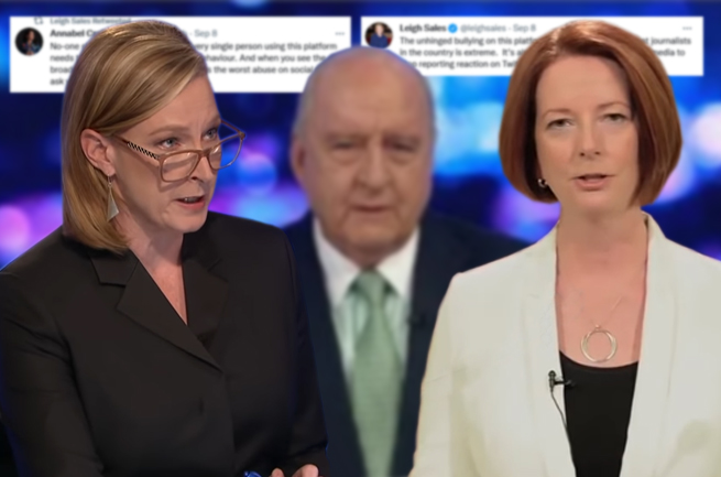Sales, Gillard and the 'Left-leaning Twitter' bully