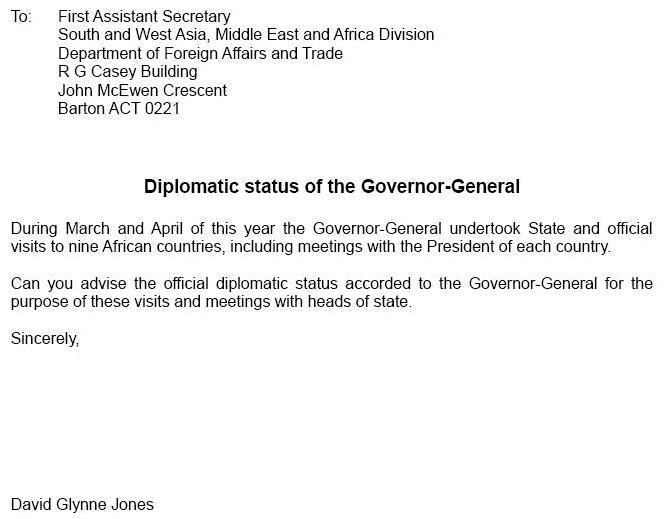 Australian head of state dispute