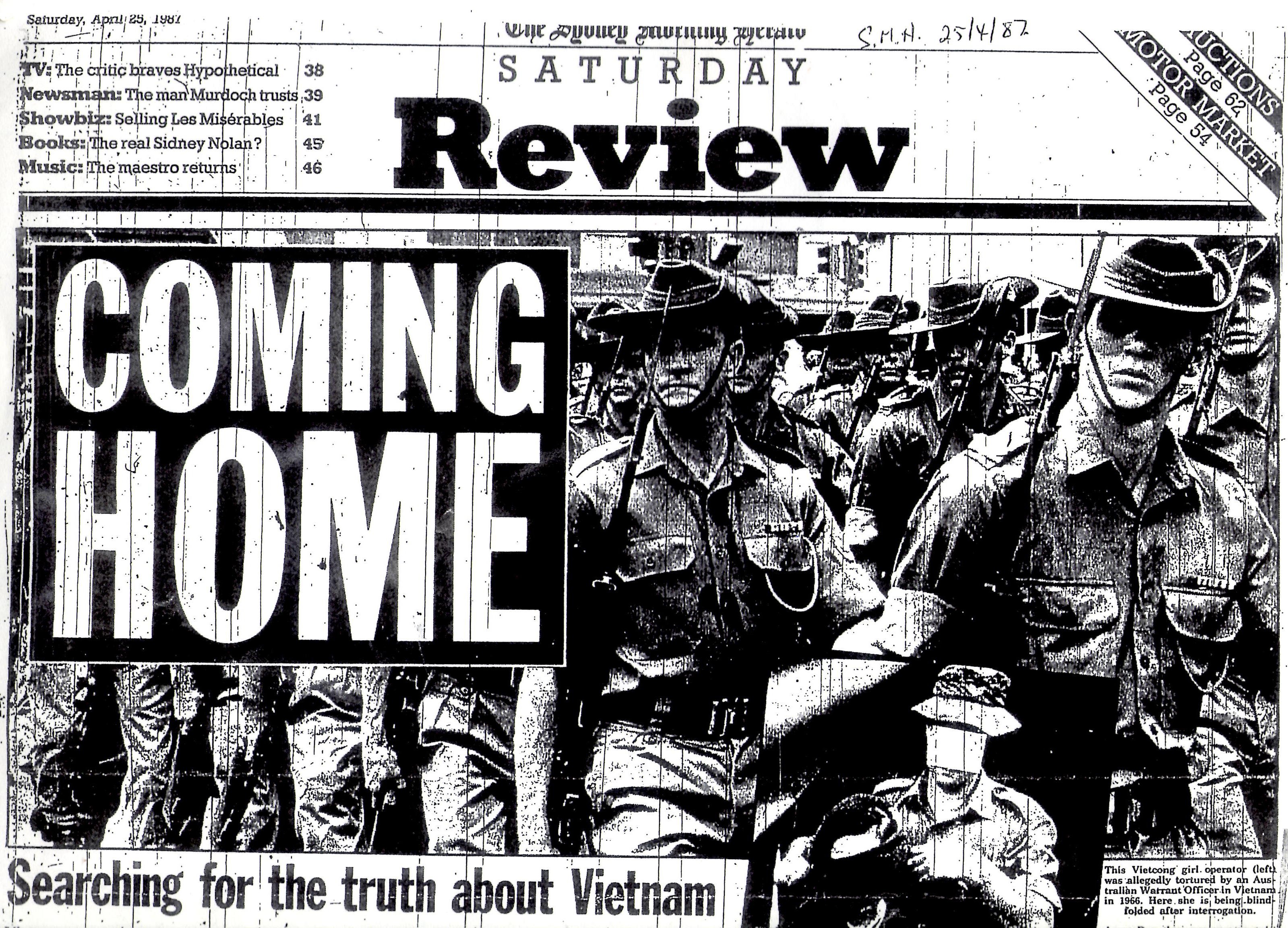 Why did Australia's involvement in the Vietnam war divide Australian society?